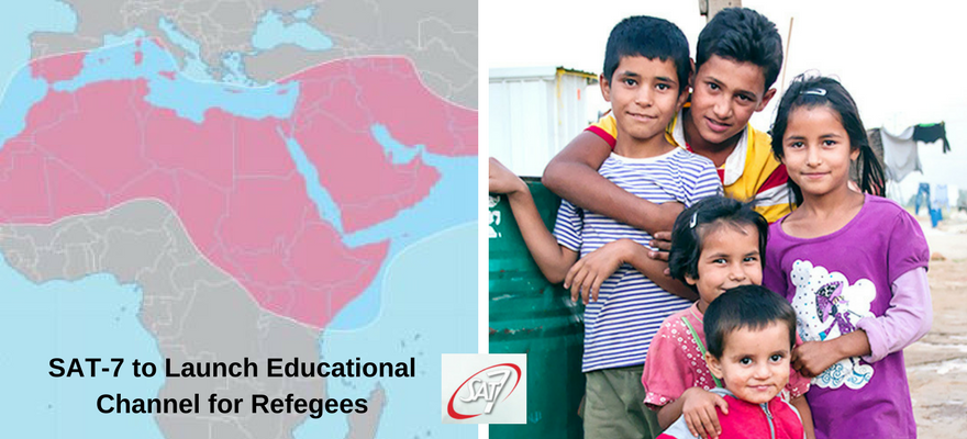SAT-7 To Launch Educational Channel For Refugees
